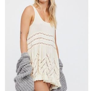 Free People lace slip dress size xs